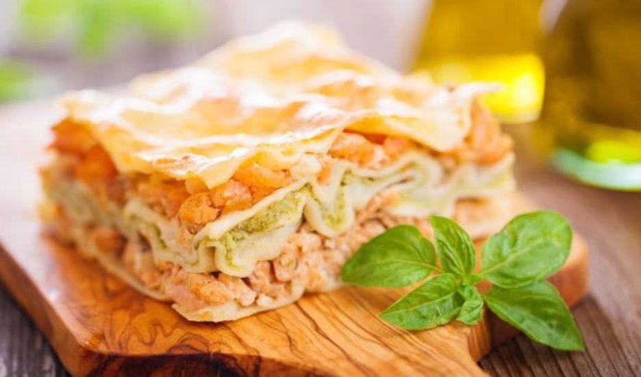Repas en Amoureux – Lasagne au saumon