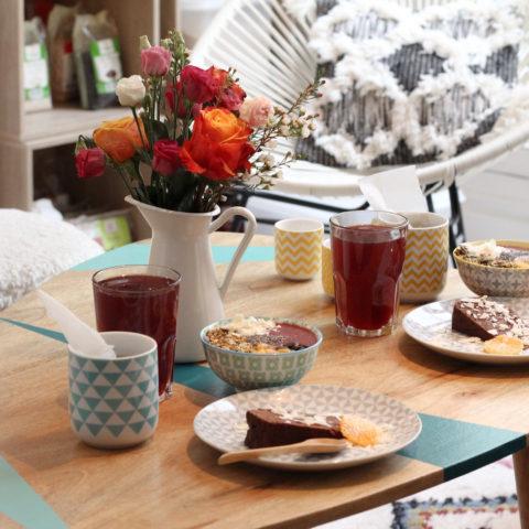 Un petit déjeuner chez «Chez Simone»/ Paris 1er