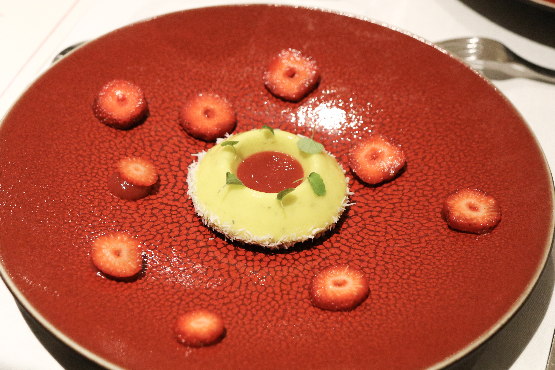 La tarte au citron façon mojito - Gelée de fraise et fraise des bois