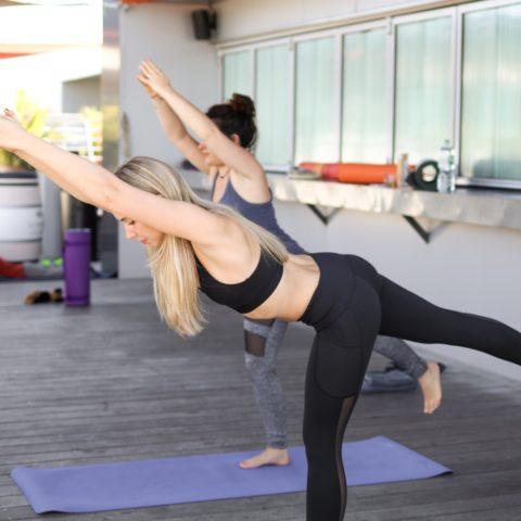 Mon premier cours de Yoga avec la Canopée Café