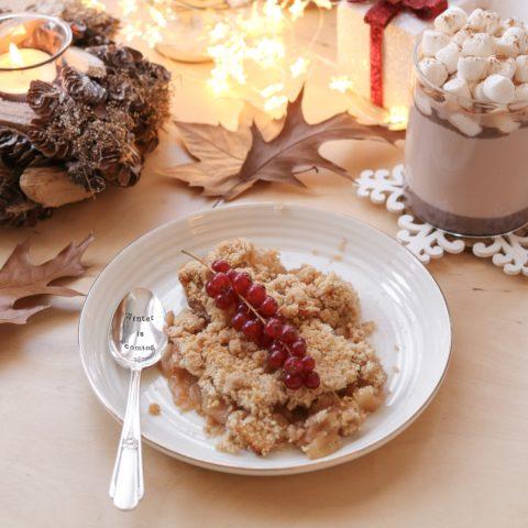 Crumble de Noël (Pomme & Canelle)