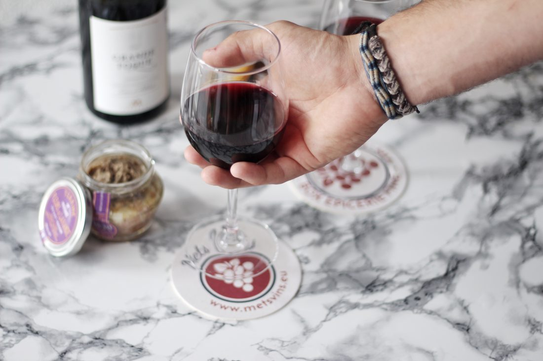 Mets vins :Box 100% Made in France