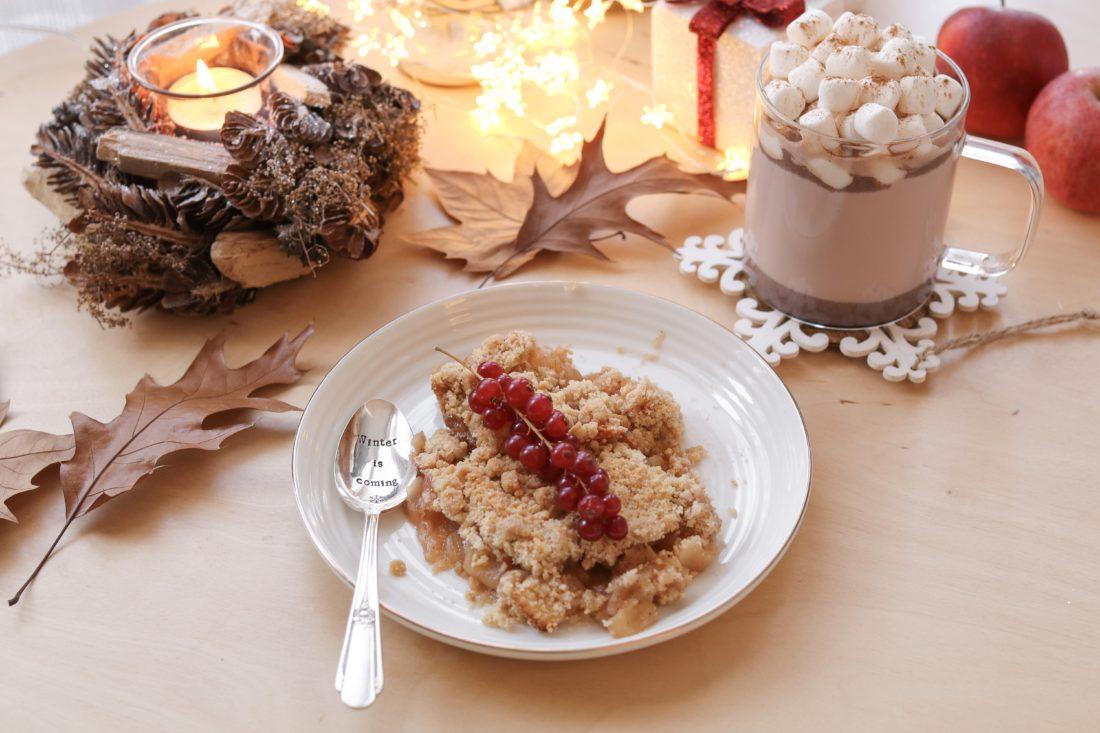 Recette #5 – Crumble de Noël (Pomme & Canelle)